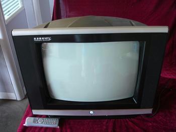 18寸彩色电视机