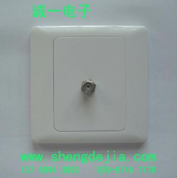 f头数字电视卫星锅墙壁插座